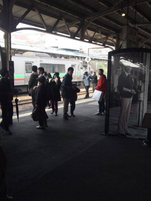 小樽駅3番線
