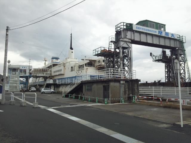 青函連絡船記念館-摩周丸①