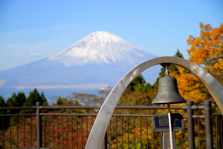 14/11/23 富士山と乙女の鐘