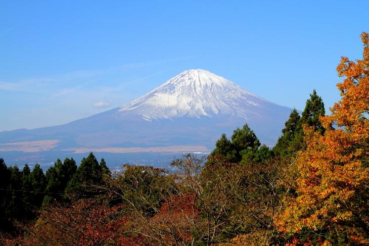 14/11/23 富士山(乙女駐車場)