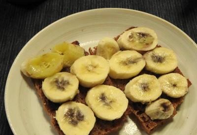 バナナライ麦パン