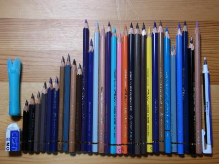 ミカエル5色鉛筆