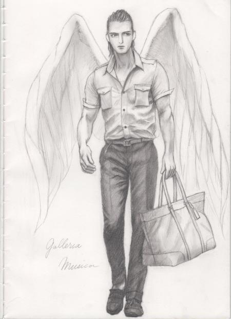 大天使ラファエル らくがき