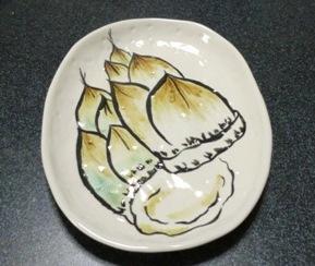 タケノコ皿