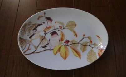 小鳥木の実皿