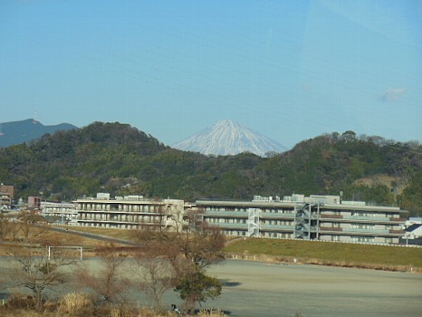 安倍川からの富士