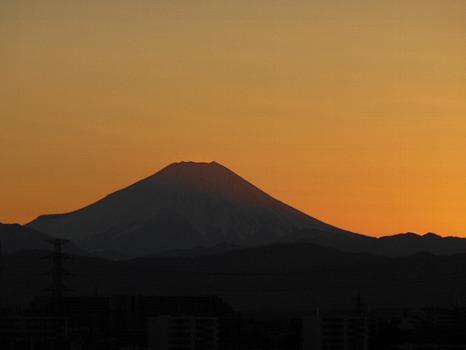 富士シルエット