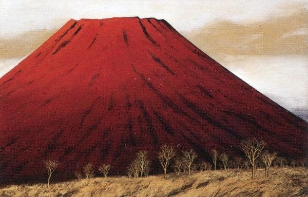横山 操  赤富士