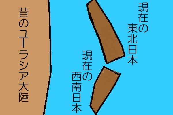 日本列島のでき方2