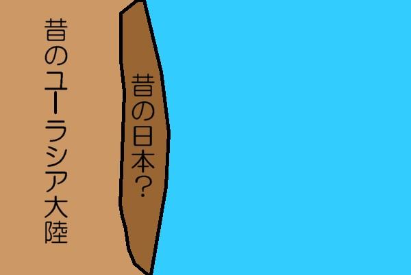 日本列島のでき方1