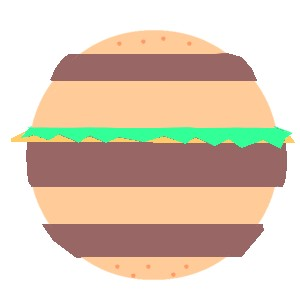 アースサイズハンバーガー