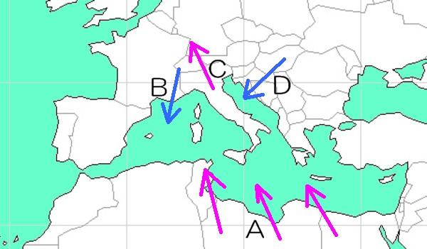 ヨーロッパの局地風