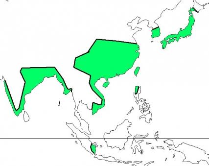 アジア式稲作地域