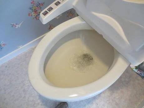 トイレの水位3
