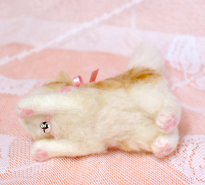 ミニ白茶トラ子猫130724 030