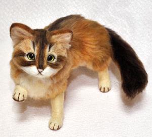 ソマリ親子猫1311020049