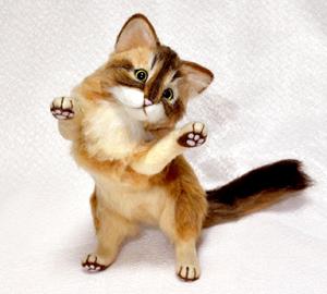 ソマリ親子猫1311020056