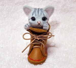 子猫ブーツ131104 012