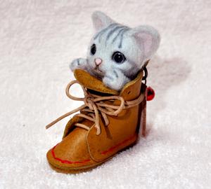 子猫ブーツ131104 016
