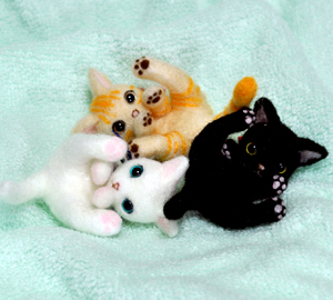 3匹ちび猫 028