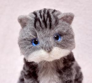 アメショ猫制作中131124 019