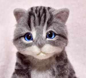 アメショ猫制作中131124 021