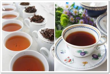 紅茶教室イメージ 紅茶と水の関係