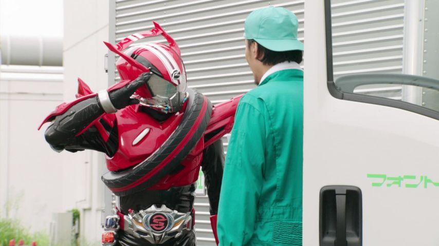 ドライブ#5敬礼!
