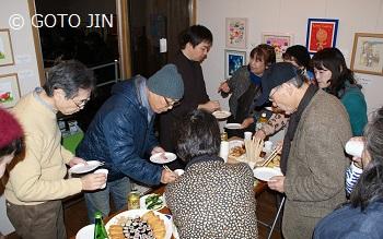 「本日晴展」オープニングパーティー
