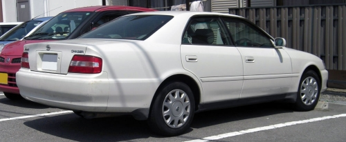 1996-1998_Toyota_Chaser_rear