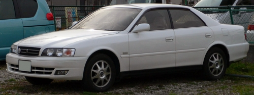 1998-2001_Toyota_Chaser_front