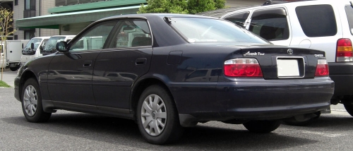 1998-2001_Toyota_Chaser_rear