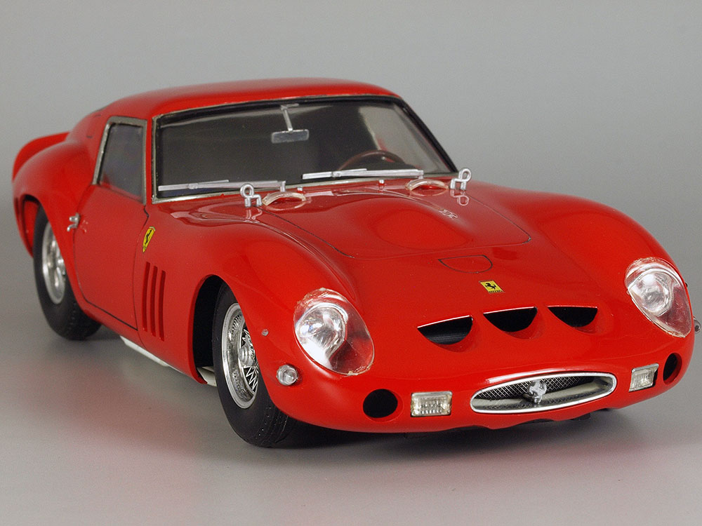 プラモde クルマno 楽しみ方 1/24 博物館<File No.191>Part 3 フェラーリ・250GTO