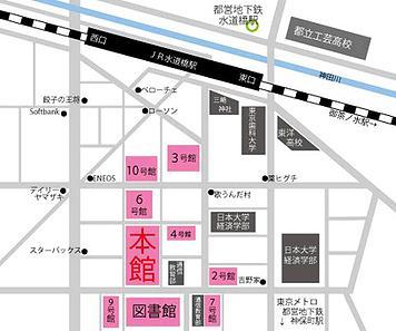 日大文化祭地図