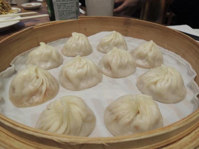 台北夕食1 小籠包
