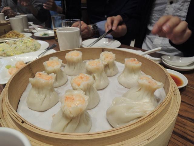 台北夕食6 エビシューマイ