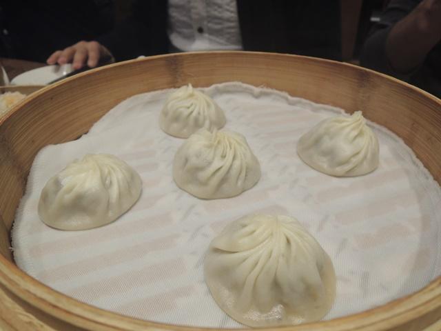 台北夕食7 トリュフ小籠包