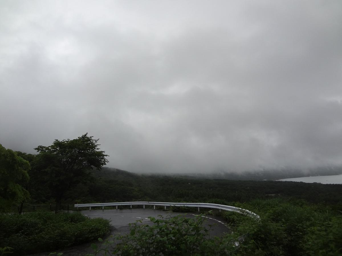パノラマ台の見えない富士山
