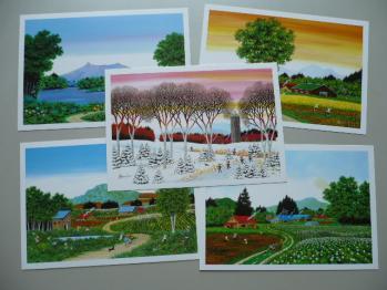 旅先で買ったポストカード(富良野)2
