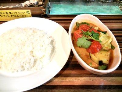 大地の恵みの野菜カリー