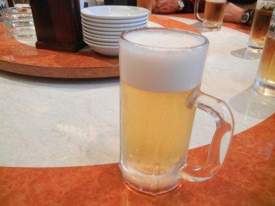 取り敢えずビール