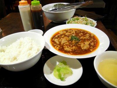 週替わりランチ・c麻婆豆腐
