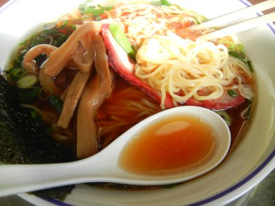 ラーメン(汁&麺)