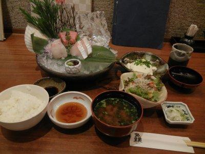 お魚御膳(刺身)