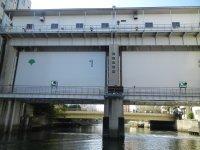 亀島川・日本橋水門
