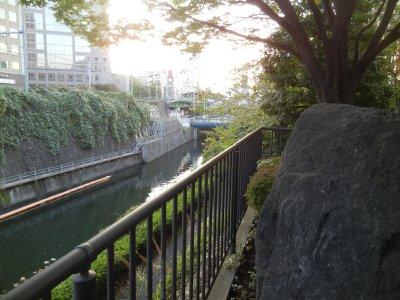 神田上水懸樋跡→水道橋