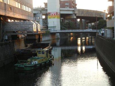 後楽橋→小石川橋