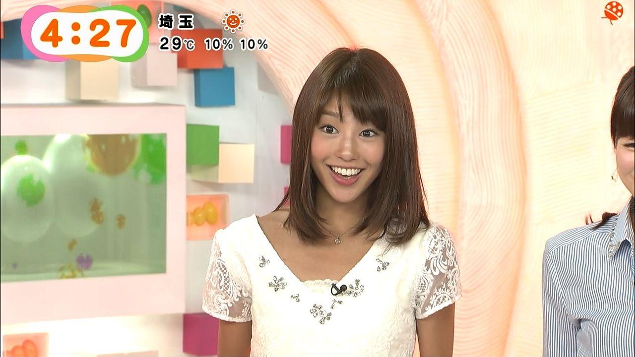 めざましテレビアクアの岡副麻希