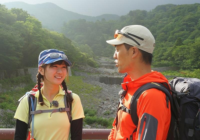 「山のぼり☆大好き」で登山をする中村葵