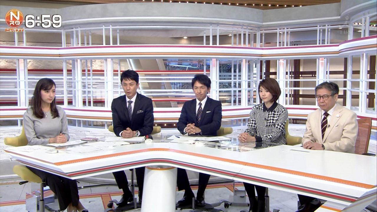 TBS、加藤シルビアアナの爆乳
